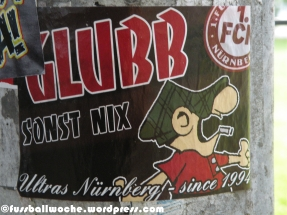 "Aufkleber ""Glubb - Sonst nix!"""